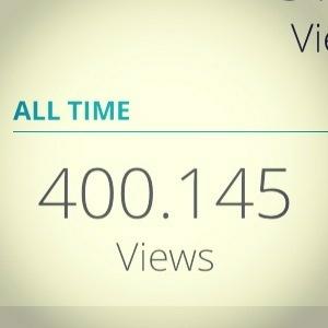 Så har bloggen rundet de 400.000 sidevisninger - og den er ikke engang 3 måneder gammel! TAK! 😁