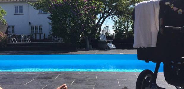Når jeg bliver rig, køber jeg en pool magen til den her!